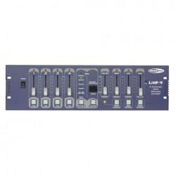 Console Dmx 4 canaux programmable Showtec LITE4