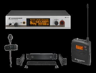 Ensemble complet micro cravate cardioide UHF diversity EW 322 G3