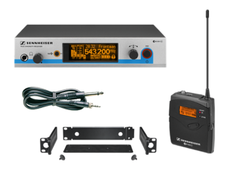 Ensemble complet émetteur portable pour instrument UHF diversity Sennheiser EW 572 G3