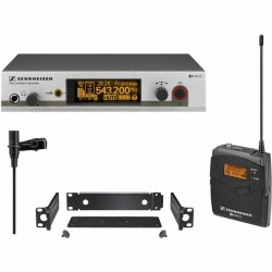Ensemble complet micro cravate omnidirectionnel UHF diversity EW 312 G3