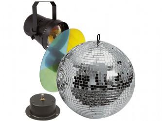 Pack boule à facettes Ibiza Disco 30