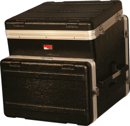Rack Gator GRC 10x6 top incliné 10U + front 6U