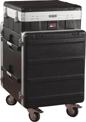 Rack Gator GRC 10x12 PU top inclinable 10U + front 12U