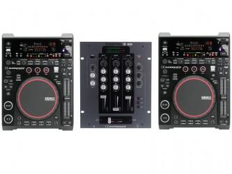 Régie dj Audiophony CDX6