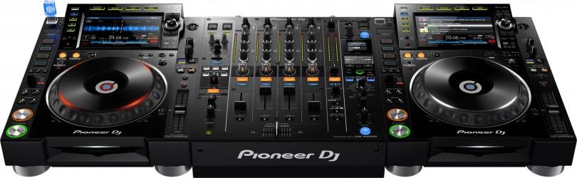Régie Pioneer CDJ2000nsx2 & Djm900nxs2