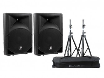 Pack sono Boomtone Dj MS12A Bundle