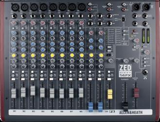 Table de mixage Allen & Heath ZED60 14 FX