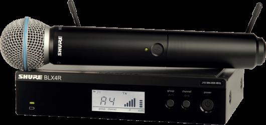 Micro sans fil main Shure BLX24R SM58