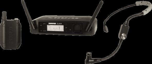 Micro sans fil fitness Shure GLXD14E SM35