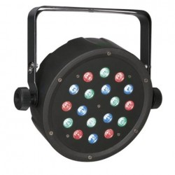 Projecteur à led Showtec CLUBPAR 18/1 RGB