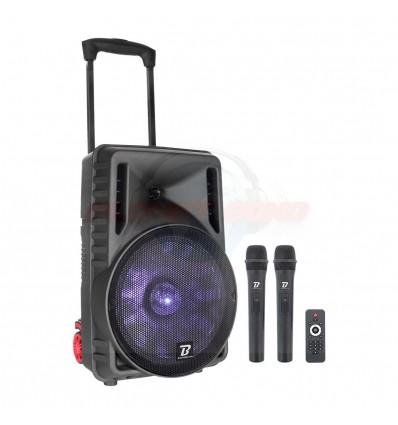 Sono portable Boomtone Dj Traveler 12 VHF