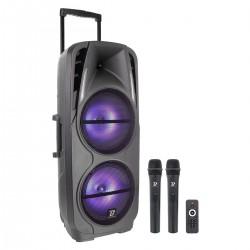 Sono portable Boomtone Dj Traveler double 10 VHF