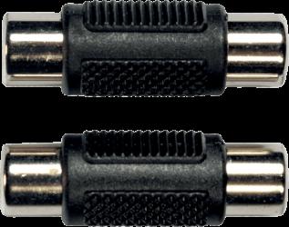 Adaptateur RCA Femelle / RCA Femelle ( la paire )