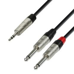 cable neutrick mini jack/ 2 jack 6.35 1.5m