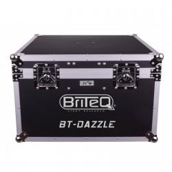 Flightcase Briteq pour 2x BT DAZZLE