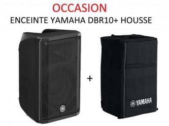 Enceinte Yamaha DBR 10 + housse d'occasion