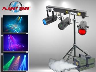 Location Pack effet à leds + laser + fumée BOUM2