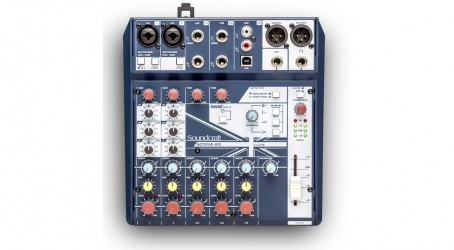 Console de mixage soundcraft NOTEPAD8FX