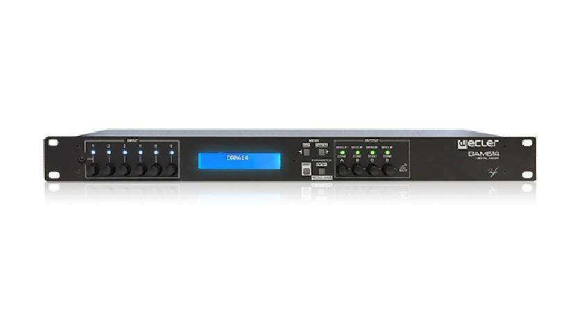 Mixeur numérique Ecler DAM614