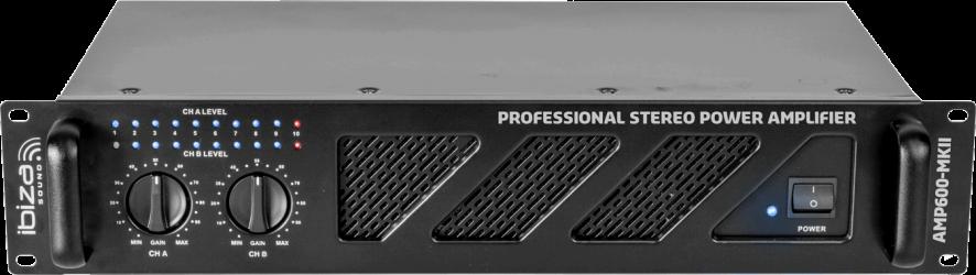 Amplificateur Professionnel IBIZA AMP 600 MK2