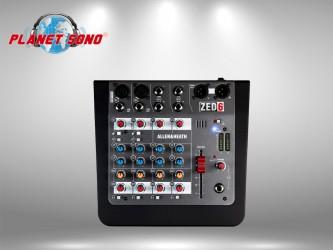 Location Console de mixage 4 voies ZED6