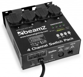 Switch Dmx 4 canaux Beamz SwitchPack