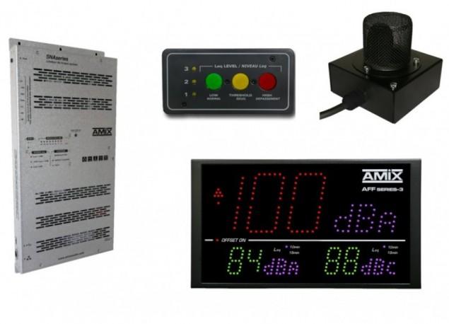 Limiteur à bandes d'octave AMIX SNA70-3B+ AFF17