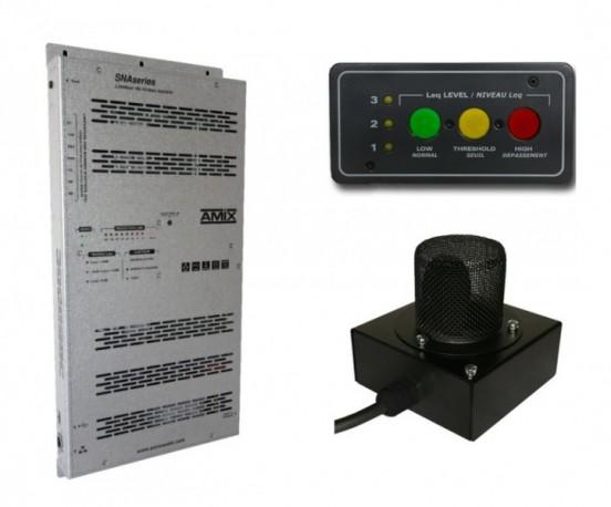 Limiteur à bandes d'octave AMIX SNA50-3B+ AFF17