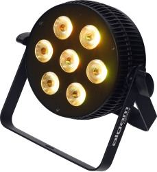 Projecteur à LED Algam Lighting SLIMPAR710 QUAD