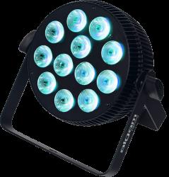 Projecteur à LED Algam Lighting SLIMPAR1210 QUAD