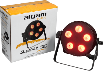 Projecteur à LED Algam Lighting SLIMPAR1210 QUAD