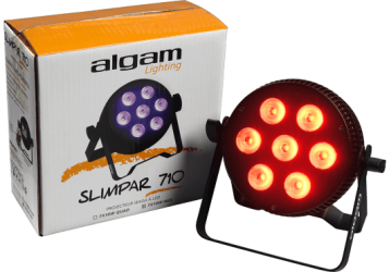 Projecteur à LED Algam Lighting SLIMPAR510 HEX