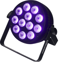 Projecteur à LED Algam Lighting SLIMPAR710 HEX