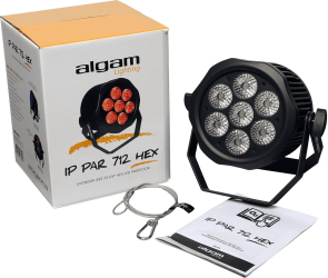 Projecteur à LED étanche Algam Lighting IPPAR712 HEX