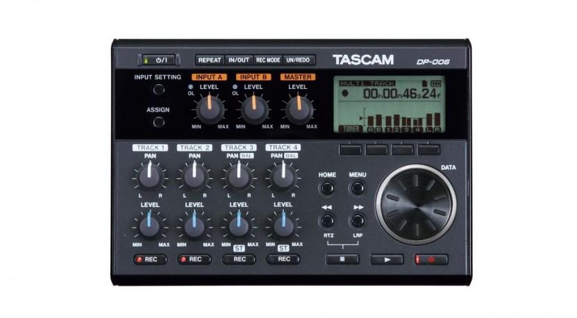 Enregistreur portable Tascam DP 006