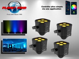 Location Pack projecteurs à led Déco sur batterie Traiteur3