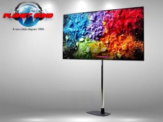 "Location Ecran TV UHD 4K 55"" avec support"