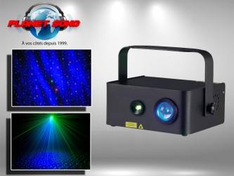 Location Laser effet ciel étoilé