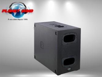 Location Caisson de basse amplifié QSC 1800 watts KS212C