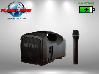 Location Sono portable sur batterie 50w avec micro sans fil