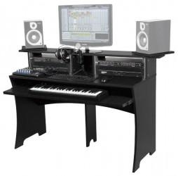 Meuble de studio  Glorious Dj WORKBENCH Noir