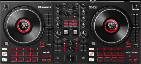 Contrôleur DJ USB Numark MixtrackPLAT FX