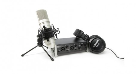 Pack studio Tascam Trackpack US 2x2