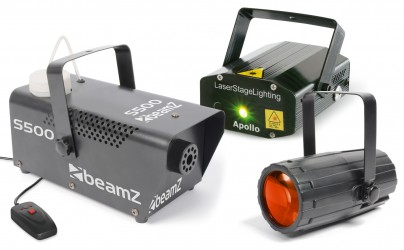 Pack lumière Beamz PACKAGE 3
