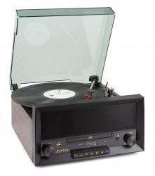 Platine Vinyle/CD 60's à courroie Fenton RP135W