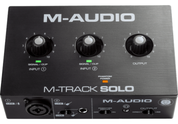 Carte Son M Audio MTRACK SOLO