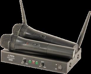 Micro double sans fil Party 200 UHF