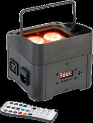 Projecteur PAR à LEDs Ibiza TBOX QUAD4