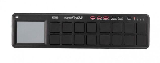 Contrôleur MIDI Korg NANOPAD 2 BK