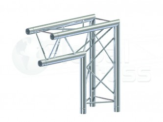 GLOBAL TRUSS SERIE F23 ANGLE 2D 50CM APEX DOWN